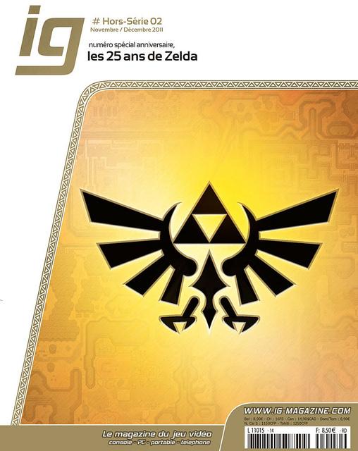 Le hors-série consacré à la saga Zelda est bien plus intéressant que certains ouvrages sortis pour les 25 ans de la série.