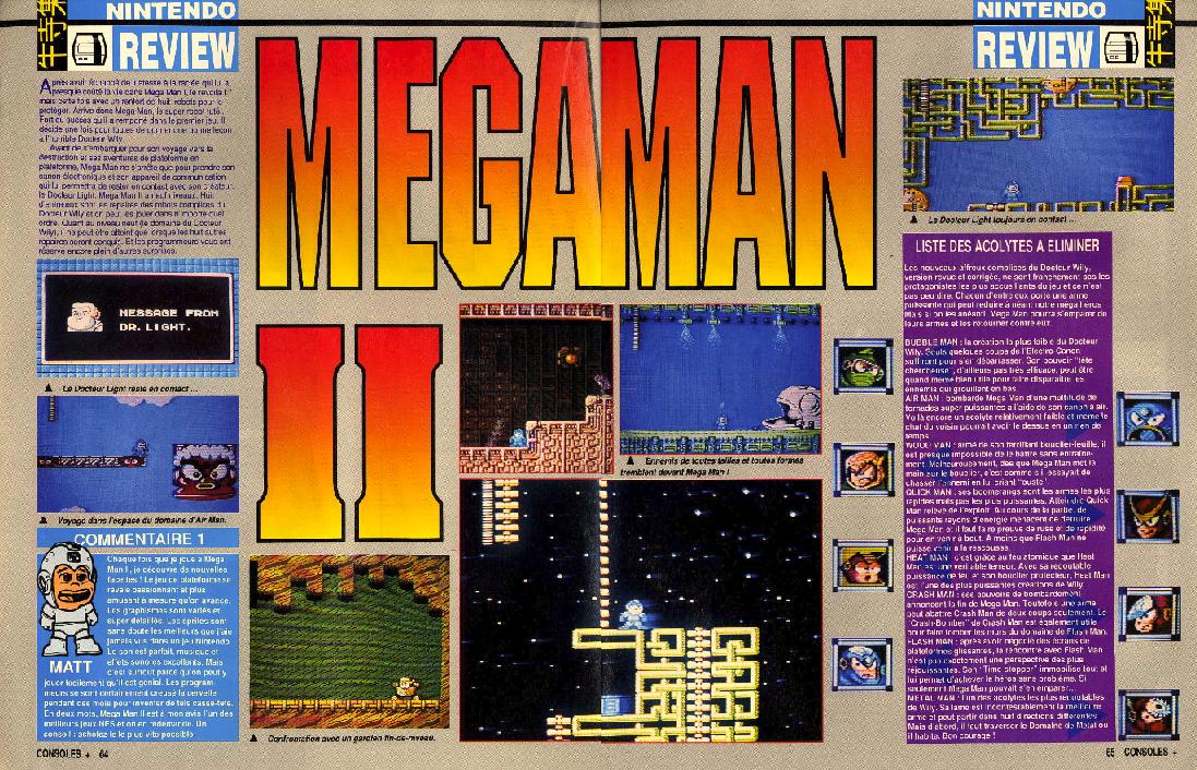 Megaman consoleplus 1et 2